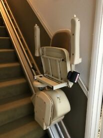 Stairlift Brooks Lincoln with remote control