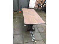 Antique wooden table. Quick sale