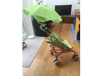 Mothercare In the night garden pushchair with sun umberella