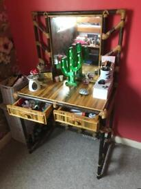 Beautiful Bamboo Dressing Table
