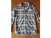 MENS SUPERDRY CHECKEDT SHIRT LONG SLEEVE MENS(LARGE)