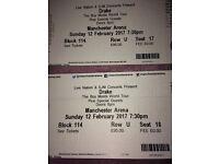 Drake Concert Tickets LOWER TIER BLOCK 114!