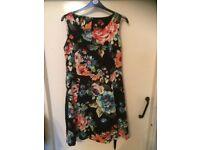 size 20 floral dress