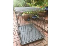 Portable crate for large breed puppy, excellent design and quality