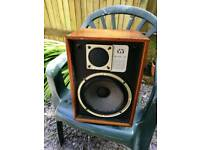 Wharfedale Denton 2XP speakers, vintage classic rare