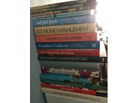 Cookery Book Bundle (Sixteen In Total) : Price Is For All : Will Sell Separately