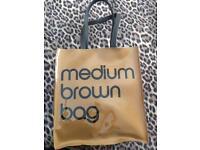 Medium brown bag