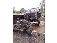 Breaking 1993 Toyota LandCruiser 80VX