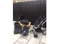 Quinny Buzz & complete travel pack ( ISO-fix base & additional Group 1Seat aslo available)