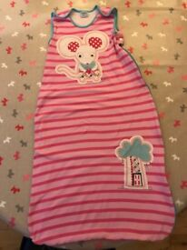 gro company gro bag - 18-36 months, approx 1.0 tog, 100% cotton outer and lining.