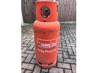 19KG CALOR Propane Empty Gas Bottle