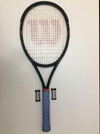 Wilson Burn FST 99 Tennis Racket, 310gm L3 Grip. RRP. £169.99. VERY powerful Tennis Racquet !!