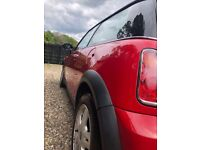 MINI ONE RED Hatch 1.6 3dr - £1400