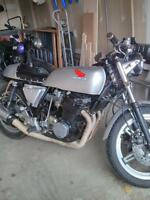 Trade motorcycle for classic car