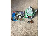 Lego Harry Potters hagrids hut
