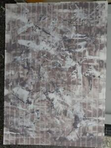 "OAKVILLE Background Wood Panel 39x55"" Shabby Chic Rustic painted accents brown and white Other colors avail"