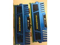 8GB (2x4GB) Corsair Vengeance DDR3 RAM 1866Mhz