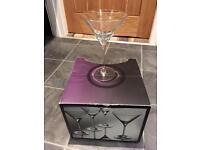 4 martini gladses