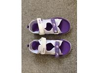 Girls clarks sandals size 11