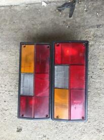 VW TRANSPORTER T3 rear lights