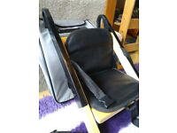 Handysitt Portable Feeding / Booster Seat / Highchair attaches to standard Chair