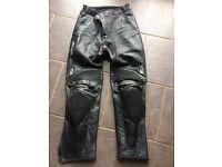 Richa Motorbike leather trousers
