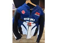 Suzuki leather motorcycle jacket