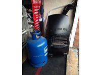 portable calor gas heater ideal for workroom or garage