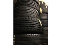 255/45/19 x2 matching pair Pirelli tyres