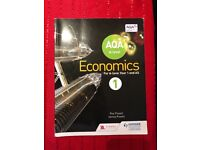 A level economics year 1 for aqa