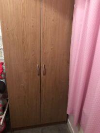 Wardrobe for sale x2 door