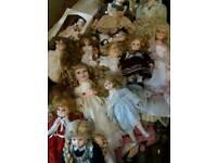 Porcelain Dolls // Varying Prices