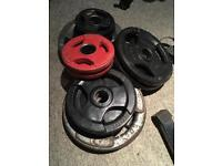 Olympic Weights and bars
