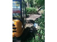 SUPERIOR MINI DIGGERS** MINI DIGGER AND DRIVER HIRE FROM £225.00 PER DAY FULLY INCLUSIVE********