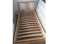 IKEA single bed with matress