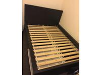 Double bed frame from Malm Ikea