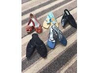 Bundle of ladies shoes