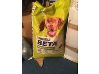 14 kg sack off BETA ADULT PREBIOTIC DRIED DOG FOOD