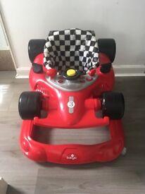 Car shaped baby walker