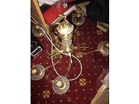 Brass shanderlier