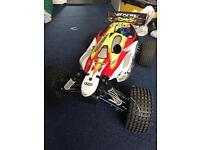 RC Nitro car 4x4 buggy. (Big spec) 1/8th XL.