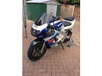 Gsxr 600 srad 1998. Tidy bike.