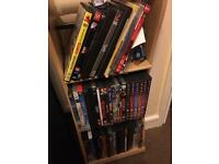 Job lot of DVDs and CDs