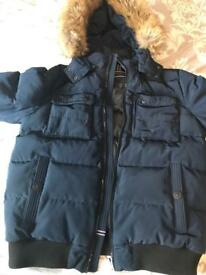 Tommy Hilfiger large navy jacket