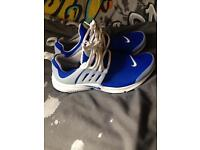 Nike presto's size 7 like new
