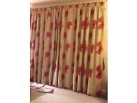 Lovely Linen Curtains - 2.4m (L) x 5.4m (w)