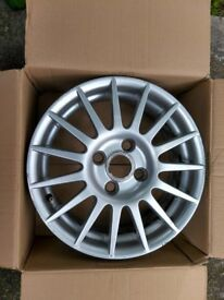 * * * Ford Fiesta Zetec-S 15 inch Alloy Wheel, Ford Spare Wheel, 15 Spoke * * *