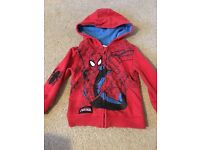 Boys Spider-Man hoodie size 2-3 years