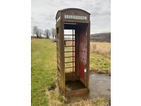 Vintage Red K6 Telephone Box