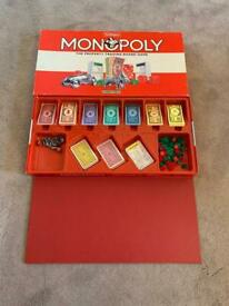 Waddingtons Monopoly The Property Trading Board Game (1993)
